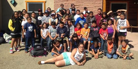 2015 Summer Recreation Pueblo of Sandia Youth