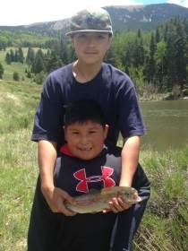 Bobcat Ranch - Fishing At The Ponds