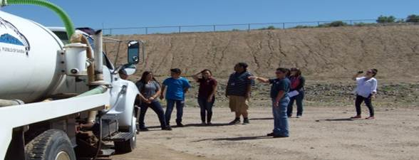 Job Shadowing - Waste Water Treatment Center