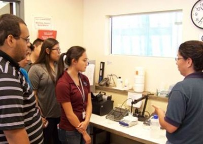 Job Shadowing - Waste Water Treatment Lab
